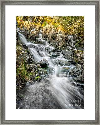 Autumn River Framed Print by Adrian Evans