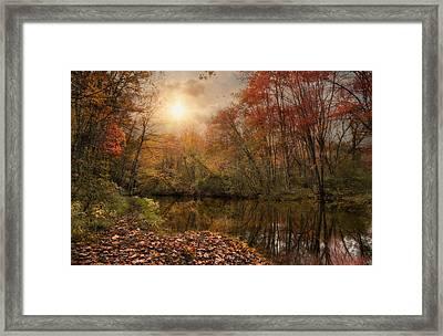 Autumn River Framed Print