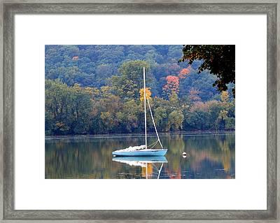 Autumn Sails Framed Print