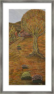Autumn Sequence Framed Print