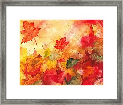 Autumn Serenade  Framed Print