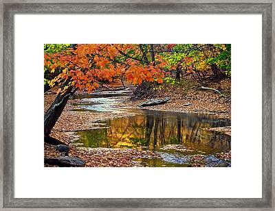 Autumn Serenity Framed Print by Frozen in Time Fine Art Photography