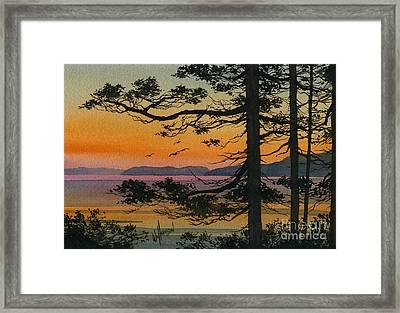Autumn Shore Framed Print by James Williamson