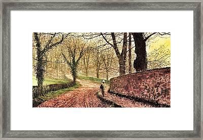 Autumn  Framed Print by SJ  Gallery