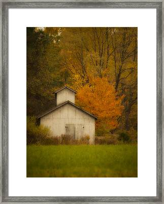 Autumn Solace Framed Print by Cindy Haggerty