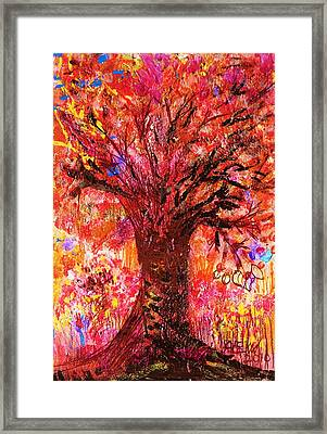 Autumn Splendor Framed Print by Anne-Elizabeth Whiteway