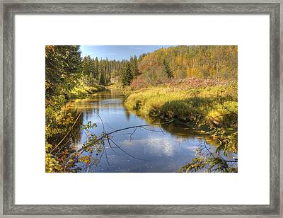 Autumn Splendor Framed Print by Jim Sauchyn