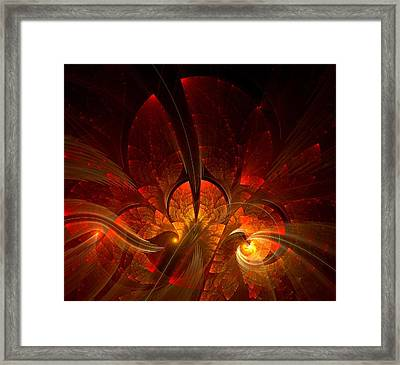 Autumn Splendor Framed Print by Lea Wiggins