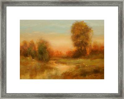 Autumn Splendor Framed Print by Richard Hinger