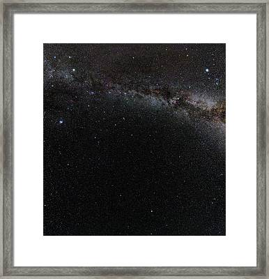 Autumn Stars Without Light Pollution Framed Print by Eckhard Slawik