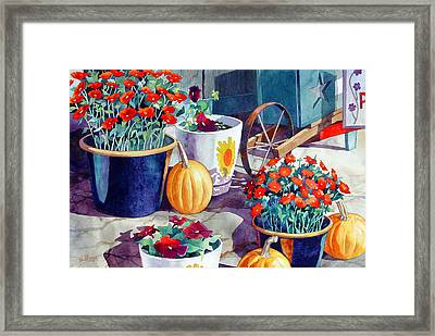 Autumn Still Life Framed Print by Mick Williams