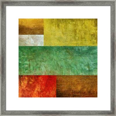 Autumn Study 2.0 Framed Print by Michelle Calkins