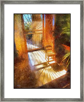 Autumn Sun Framed Print by Rick Lloyd