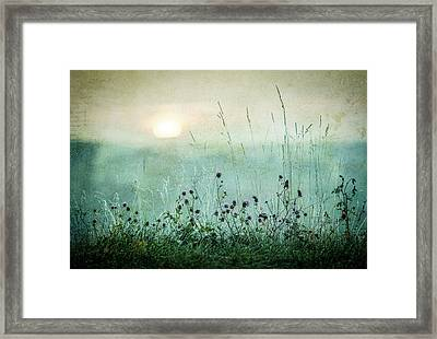 Autumn Sunrise Framed Print by ?smund Kv?rnstr?m