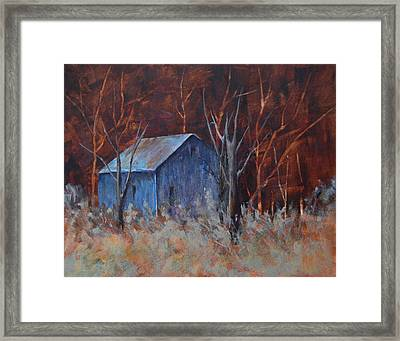 Autumn Surprise Framed Print