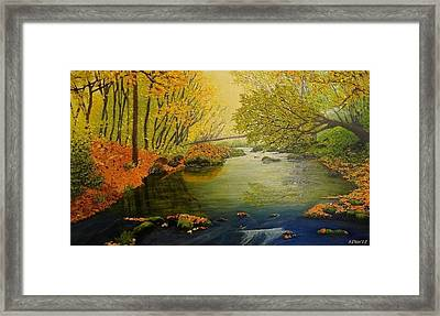 Autumn Framed Print by Svetla Dimitrova