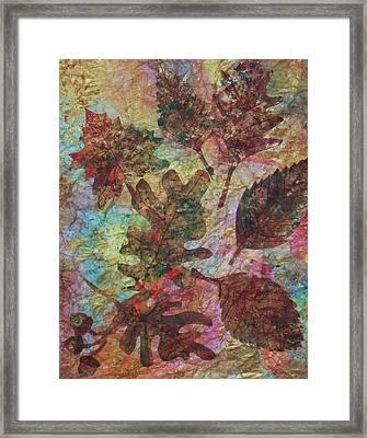 Autumn Symphony Framed Print by Ellen Levinson