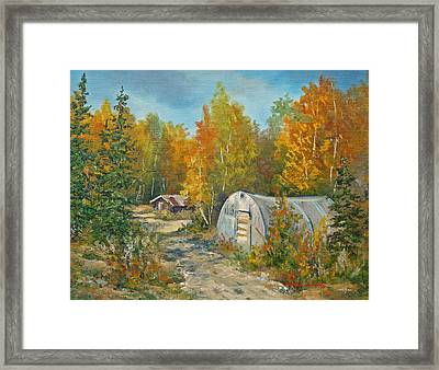 Autumn Tapestry  Framed Print