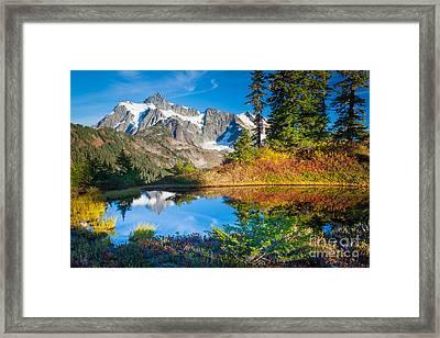 Autumn Tarn Framed Print