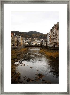 Autumn Tepla River Framed Print