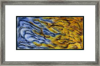 Autumn Through Winter Framed Print by Kenneth Clarke
