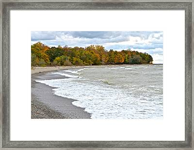 Autumn Tide Framed Print
