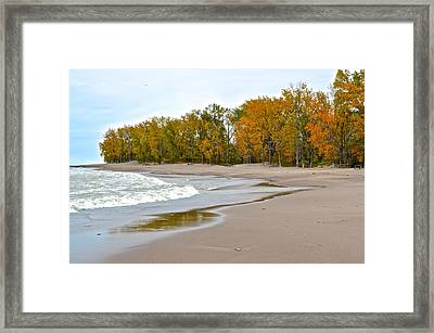 Autumn Tides Framed Print by Frozen in Time Fine Art Photography