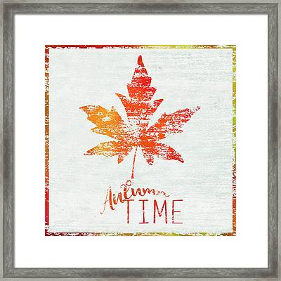 Autumn Time Framed Print
