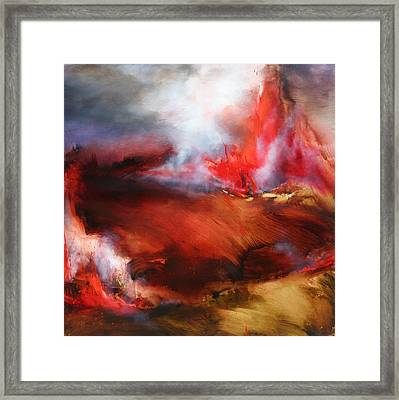 Autumn Unbound Framed Print by Lissa Bockrath