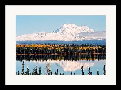 Nordamerika Framed Prints