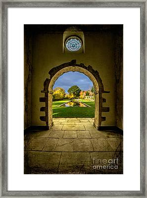 Autumn Views Framed Print by Adrian Evans