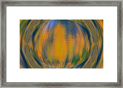 Autumn Vision Reflections Framed Print by Dan Sproul