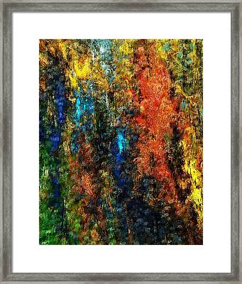Autumn Visions Remembered Framed Print by David Lane
