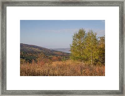 Framed Print featuring the pyrography Autumn Vitosha Mountain Bulgaria by Jivko Nakev