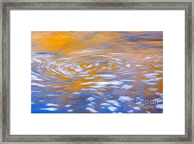 Autumn Vortex Framed Print