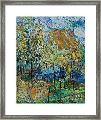Autumn Wind Framed Print