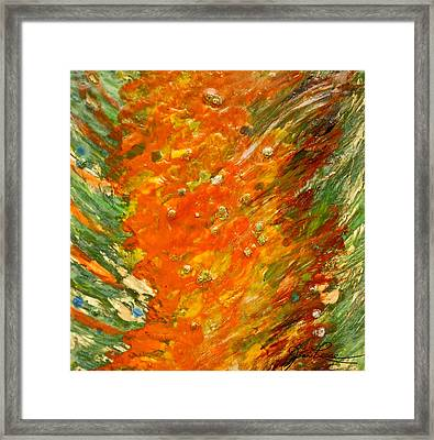 Autumn Wind Framed Print by Joan Reese