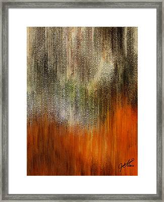 Autumn Wood Framed Print