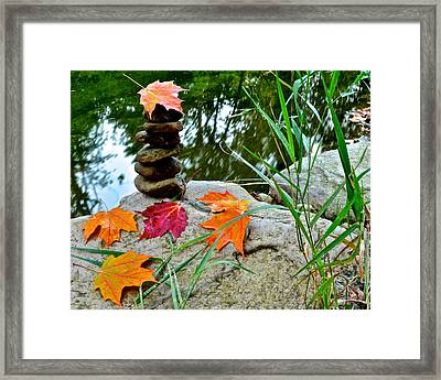 Autumn Zen Framed Print