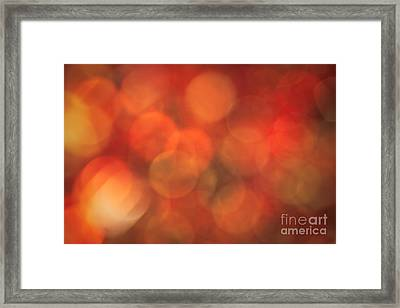 Autumnal Amber Framed Print by Jan Bickerton
