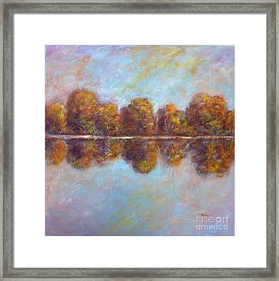 Autumnal Atmosphere Framed Print