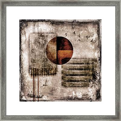 Autumnal Equinox Framed Print by Carol Leigh
