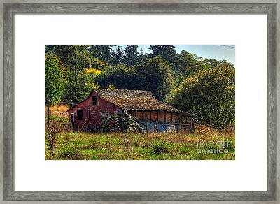 Autumnal Hdr Framed Print by Chris Anderson