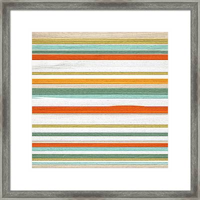 Autumnal Trend Framed Print by Lourry Legarde