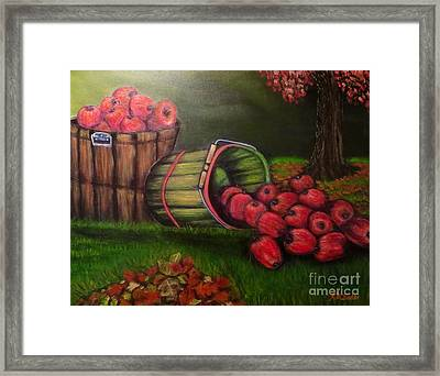 Autumn's Bounty In The Volunteer State Framed Print