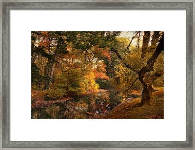 Autumn's Edge Framed Print by Jessica Jenney