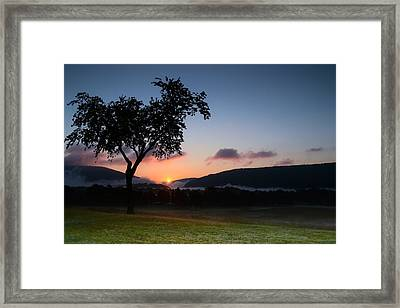 Autumn's First Breath Framed Print