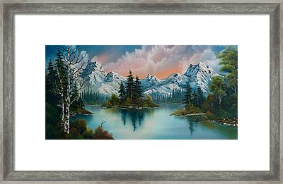 Autumn's Glow Framed Print by C Steele