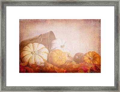 Autumn's Pick Framed Print by Heidi Smith