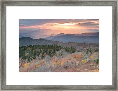 Autumn's Resplendence Framed Print by Doug McPherson